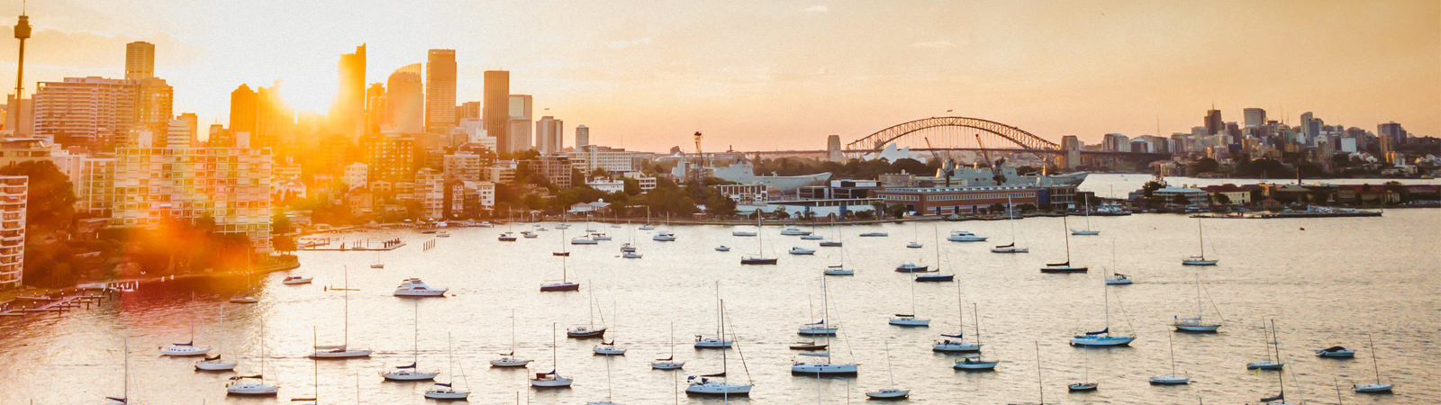 Sydney-Harbour-Sunset